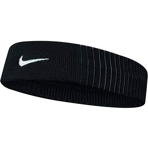 Nike Fascia per Capelli Dri-Fit Reveal tergisudore Taglia Unica - Nero-Grigio