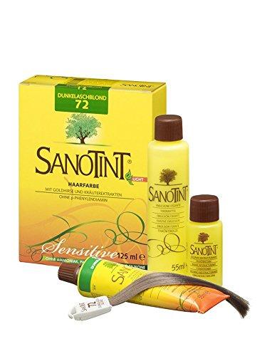 Sanotint Sensitive Colore 72 Castano Chiaro Cenere 125 Mil