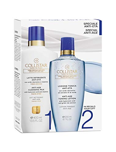 Collistar Cofanetto Antietà Latte Detergente 400ml + Lozione Tonica 200ml