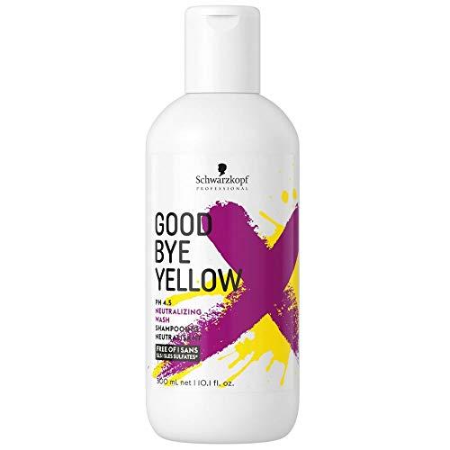 Testanera Goodbye Yellow Shampoo antigiallo, per ottenere un biondo molto freddo, da 300 ml