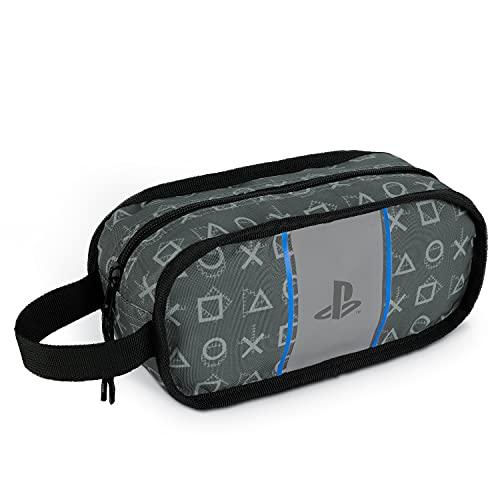 PlayStation - Borsa da bagno, per uomo, bambini, articoli da toeletta, viaggi, palestra, rasatura, regali PlayStation