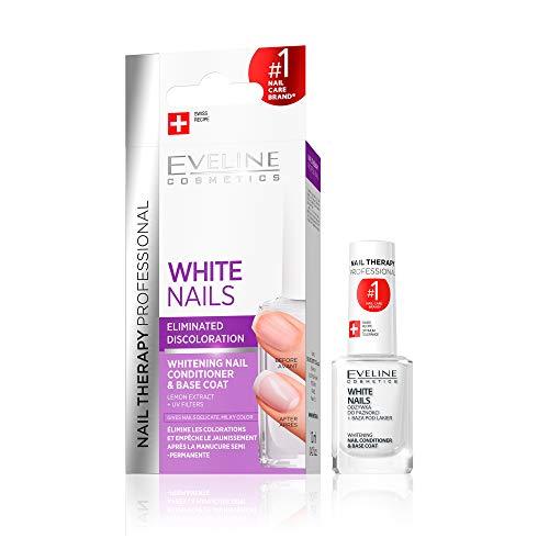 Eveline Cosmetics Nagel auf Heller Nail Whitener, 12ML