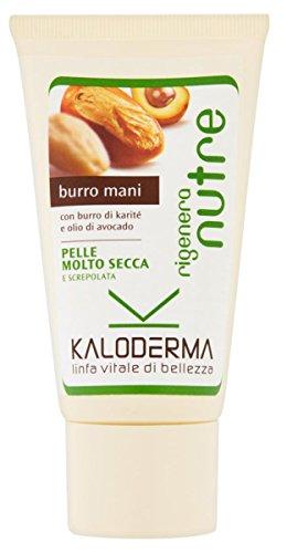 Set 6 KALODERMA Mani BURRO Tubo 75 Ml. Cura del corpo