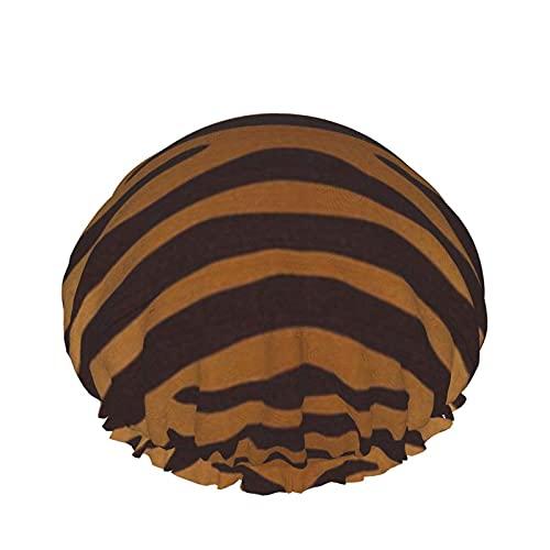 Cuffia da doccia Tiger Cuffia da bagno elastica impermeabile a doppio strato Cuffia da notte per uso domestico