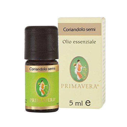 Flora Olio Essenziale di Coriandolo da Semi, Aroma Alimentare - 5 ml