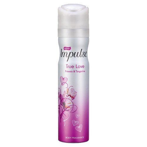 Impulse True Love Body Spray, 75 ml