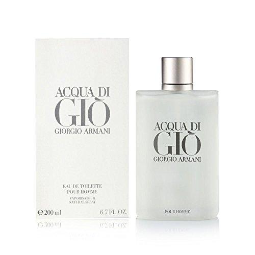 Giorgio Armani Acqua di Giò Eau de Toilette, Uomo, 200 ml