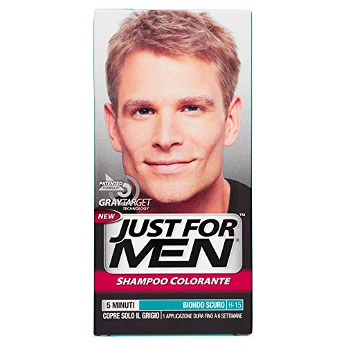 Just For Men Shampoo Colorante, H15 – Biondo Scuro, 66 ml