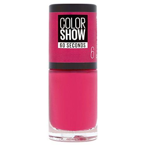 Maybelline Color Show 6 Bubblicious - smalto (Rosa, Bubblicious)