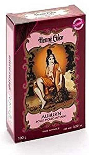 Sitarama Polvere Henne Color: Auburn Rosso Inteso - 100 gr
