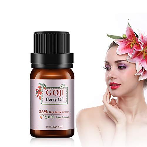Viso Olio essenziale, 10ml viso crema antirughe viso olio, Con la funzione di pelle antietà, schiarente, rassodante, nutriente e protettiva