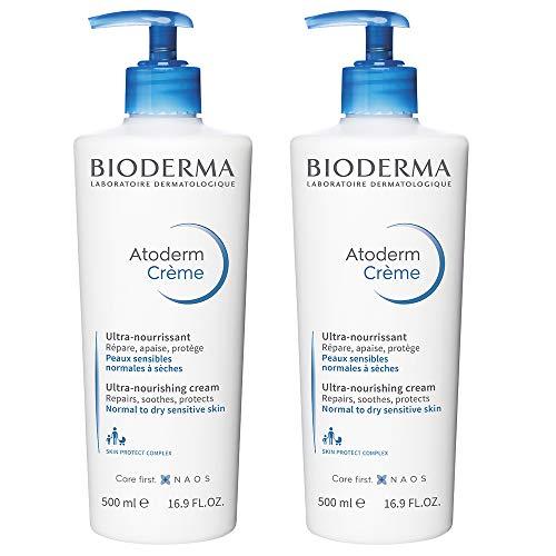 Atoderm Crème Sans Parfum lot de 2 x 500ml Bioderma