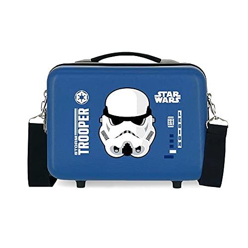Star Wars Storm Beauty case adattabile con tracolla blu 29 x 21 x 15 cm rigido ABS 9,14 L