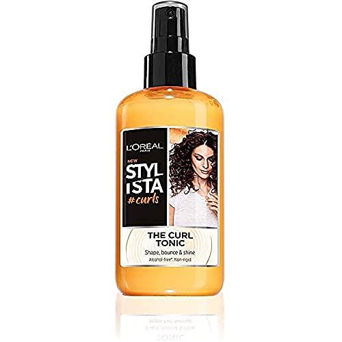 L'Oréal Paris Spray Capelli per Ricci Definiti Ed Elastici Stylista Curls, 200ml