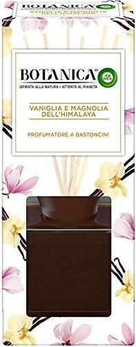 Airwick Botanica, Profumatore a Bastoncini, Vaniglia e Magnolia dell'Himalaya