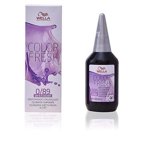 Wella Professionals Color Fresh 0/89, Argento, 75 ml