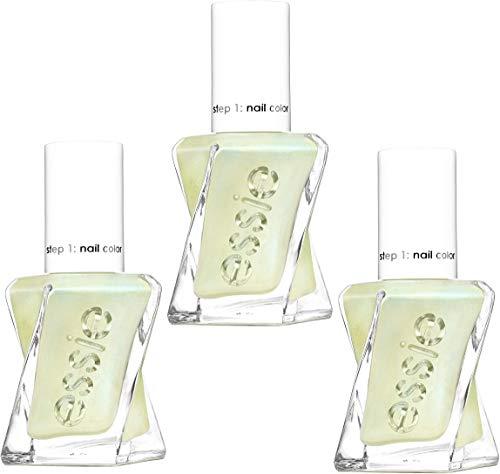 Smalto per unghie Essie Gel Couture, 13,5 ml, 160 Zip Me Up, confezione da 3 (3 x 13,5 ml)