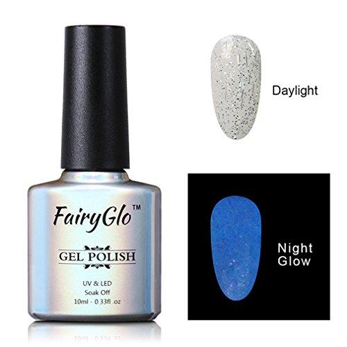 Smalto Semipermente per Unghie in Gel UV LED Smalto Cambia Colore Gel per Unghie Manicure Semipermanente Soak Off di Fairyglo 10ml-6724