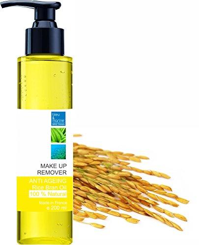 Olio di Riso Struccante 200 ml - Efficace ma completamente naturale - Viso & Occhi