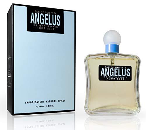 Angelus Eau De Toilette Intense 100 ml. Compatibile con Angel Thierry Mug. Eau De Parfum, Profumo Equivalente Donna