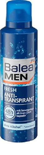 Balea Men Deo Spray antitra Fresh antitraspirante, 200ML