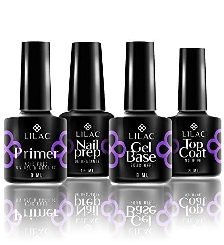 Lilac Milano Preparatori Smalti Unghie • Nailprep - Primer - Base Gel - Top Coat MADE IN U.S.A. per Semipermanente Smalto Gel UV