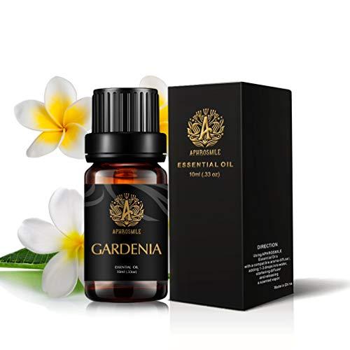 Aromaterapia Gardenia olio essenziale per diffusore, 100% Pure Gardenia profumato olio per massaggi, terapeutico Grade olio essenziale Gardenia per casa, 10ml Aromatherapy Gardenia Olio per Soap Fare
