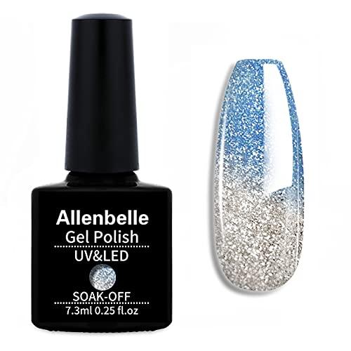 Allenbelle Smalto Semipermanente Camaleonte Nail Polish UV LED Gel Unghie 7.3ml 5746
