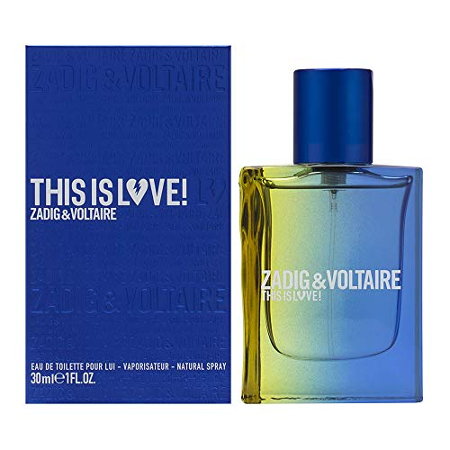 Zadig & Voltaire This Is Love! Eau de Toilette Unisex, 30 ml