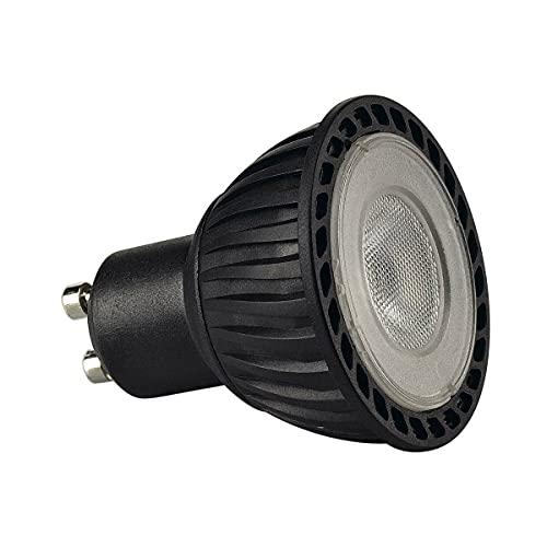 SLV Nero Corpo illuminante, Lampada, LED / GU10 2700K 4.3W 245lm 40 Gradi, 4.3 W