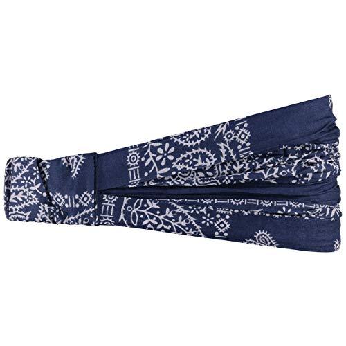 Bajala Fascia per capelli da donna | Bandana in cotone 100% | Fascia fermacapelli alla moda in taglia unica (52-60 cm) blu | Accessorio da indossare tutto l'anno