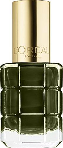 L'Oréal Paris Color Riche Colore ad Olio Smalto per Unghie, Arricchito da Olii Preziosi, 666 Vert Absynthe