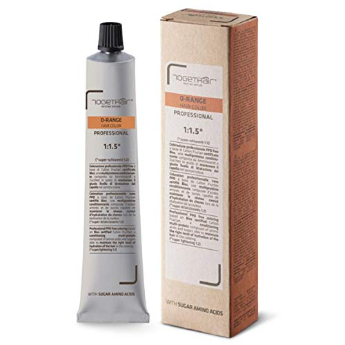 Tintura O-Range Hair Color - Colorazione Professionale PPD Free - 100 ml - Togethair (5.7 Castano Chiaro Viola)