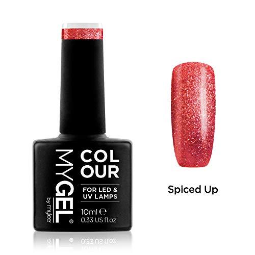 Smalto MyGel, da MYLEE (10ml) MG0080 - Spiced Up UV / LED Nail Art Manicure Pedicure per uso professionale in soggiorno ea casa - Lunga durata e facile applicazione