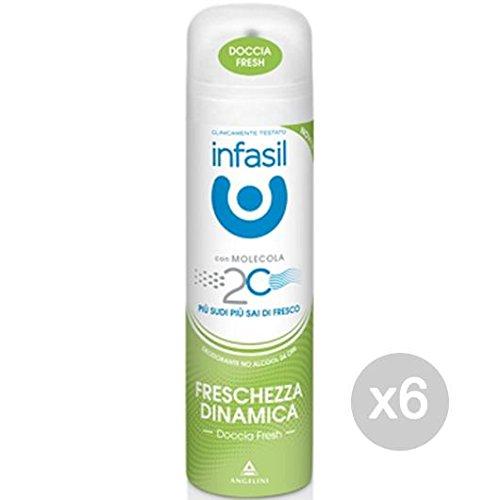 Set 6 INFASIL Deodorante Spray Fresch Dinamica 150 Cura E Igiene Del Corpo
