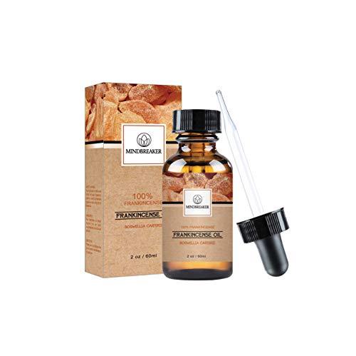 Olio essenziale di incenso, 100% puro e naturale, olio di incenso di qualità premium (60 ml)
