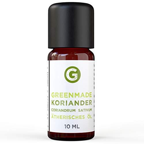 Greenmade - Olio essenziale di Coriandro 10 ml, 100% naturale