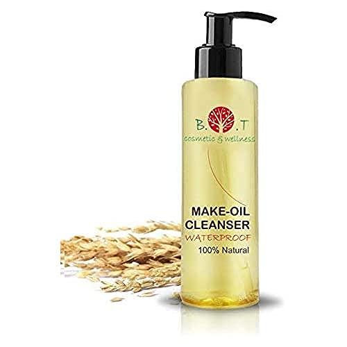 B.O.T. cosmetics & wellness Olio Detergente Struccante Make-Oil Cleanser Waterproof 100% Natural 200 ml