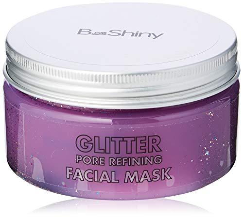 BeShiny Peel off Maschera glitter per Anti Aging Trattamento viso anti rughe Pore Minimizer, Trattamento cicatrice acne e rimozione di comedone 220g