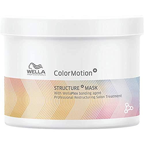 Wella Professionals Colormotion Maschera Struttura Trattamento Ristrutturante Con Tecnologia Wellaplex, 500 Millilitro