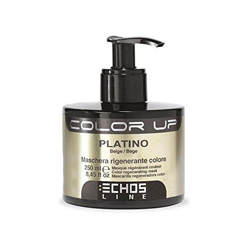 Color Up - Maschera Rigenerante Colore - Platino (Nuance Beige) 250ml EchosLine