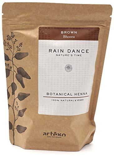 Artègo - Rain Dance Botanical Henna - Brown - Hennè bio in polvere - 300 gr