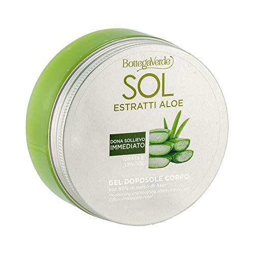 Bottega Verde, SOL estratti Aloe - Gel doposole corpo - idrata e lenisce - con 90% di succo di Aloe* (150 ml) - dona sollievo immediato