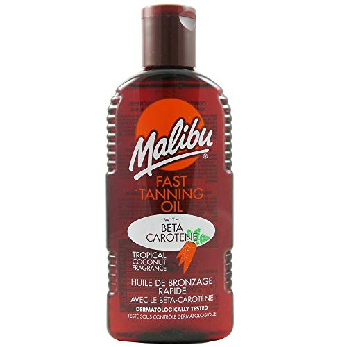 Malibu abbronzatura veloce olio con Carotene 200 ml