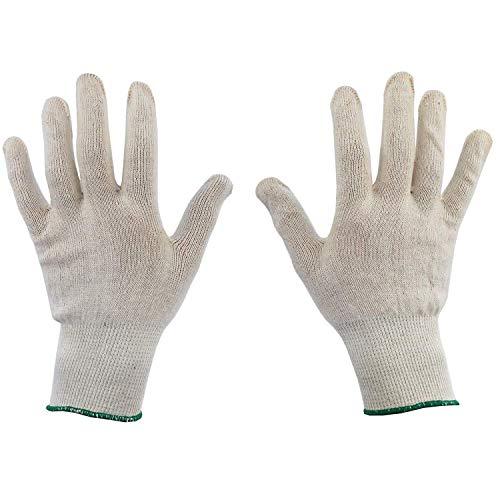 6 paia di guanti in cotone dermatologico, taglia 8, per pelle secca, crema idratante eczema