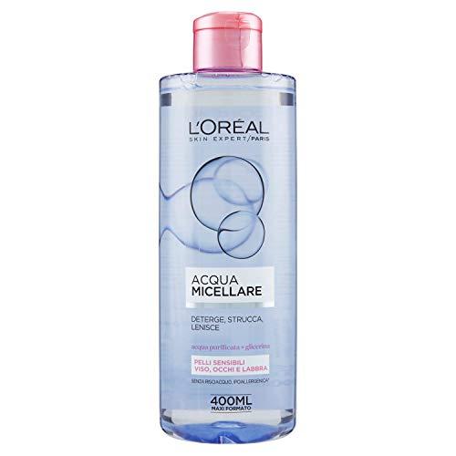 L'Oréal Paris Detergenza Acqua Micellare per Pelli Sensibili, 400 ml