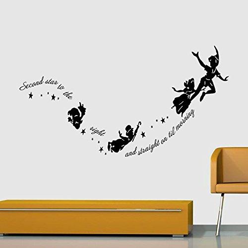 Tatuaggio murale, adesivi murali, decorazione murale, decalcomania di arte decorazione poster decorazione murale bambini cartone animato camera da letto wall sticker su libretto angioletto 57x29 cm
