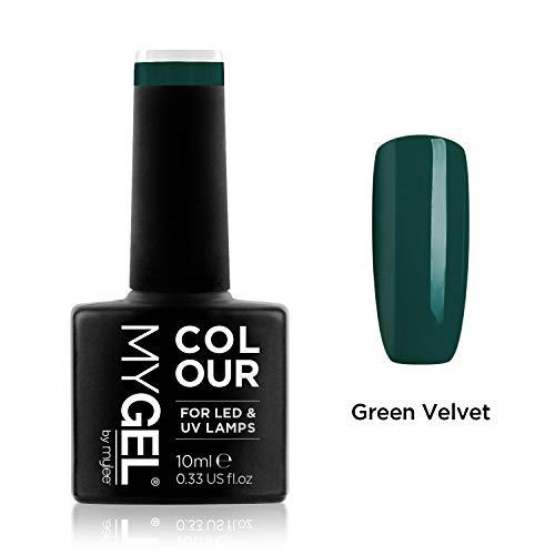Smalto MyGel, da MYLEE (10ml) MG0060 - Green Velvet UV / LED Nail Art Manicure Pedicure per uso professionale in soggiorno ea casa - Lunga durata e facile applicazione