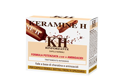 Keramine H - Fiala Rinforzante per capelli Bianca - 10 monodose
