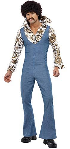 SMIFFYS Costume da ballerino all'ultima moda tuta con finta camicia attaccata